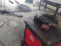 河南省洛阳市钢筋加工厂施工现场