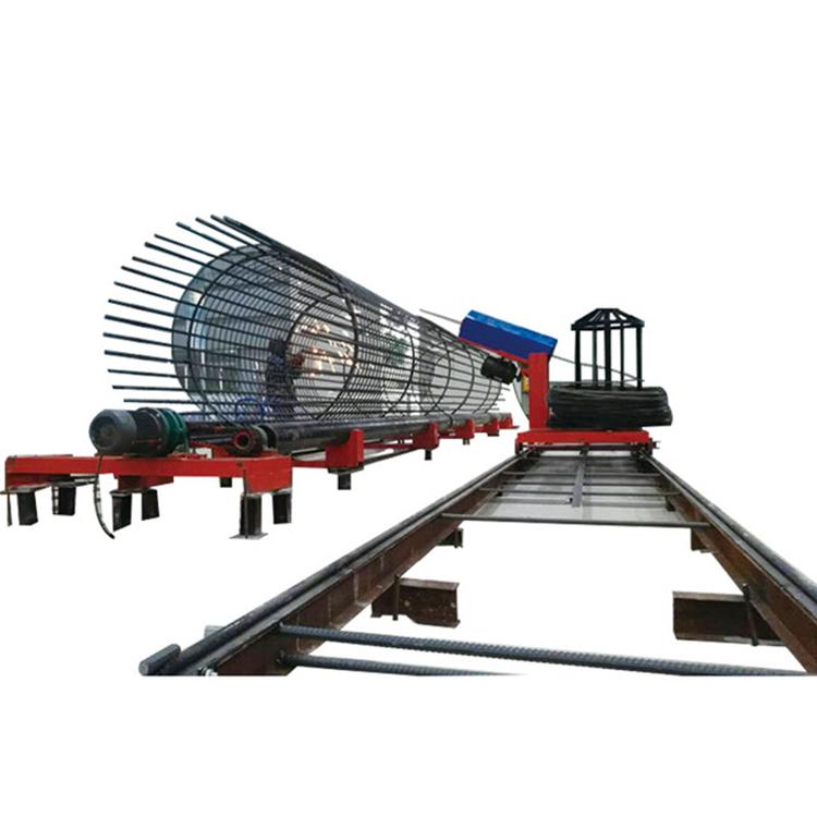 RJ300-A数控钢笼绕筋机